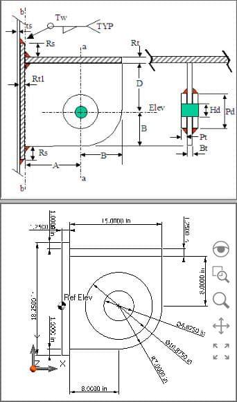 MecaStack Guyed Stack Design of Single Lug