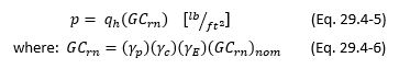 29.4.3 Solar Panel Wind Pressure Equation