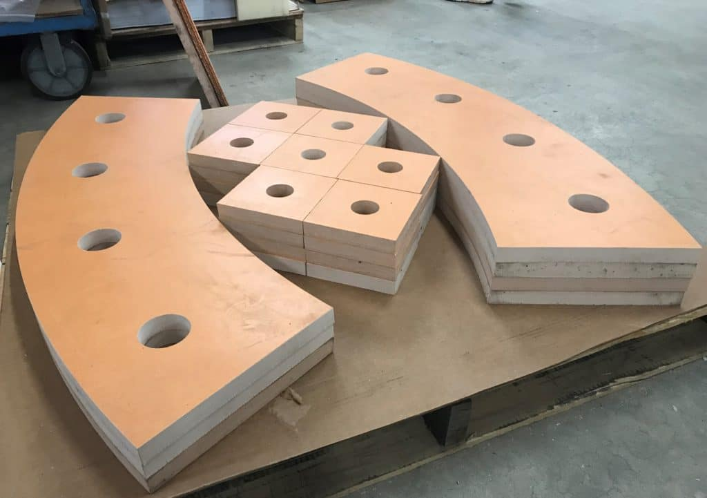 Damping Pad for Steel Stack